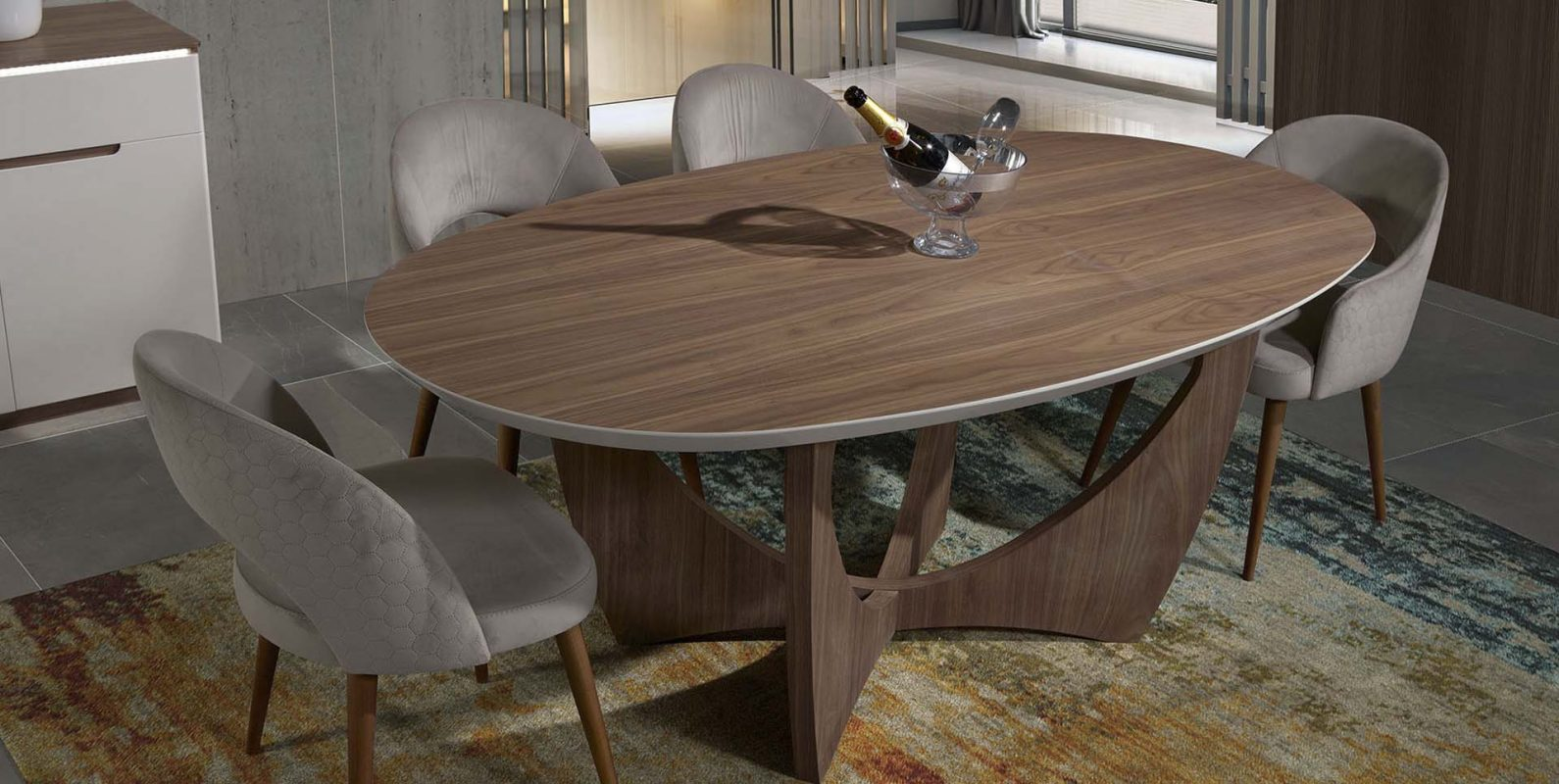 Mesa de jantar Kenzo